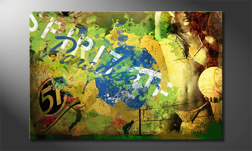 Erotic art print Brazil