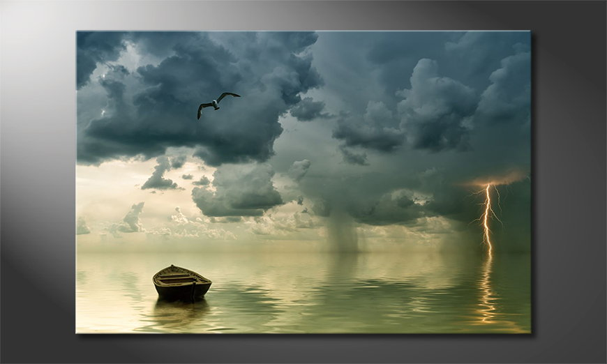 Lonely-Boat-art-print