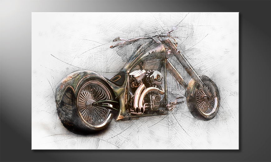 Modern-Canvas-print-Bad-Bike