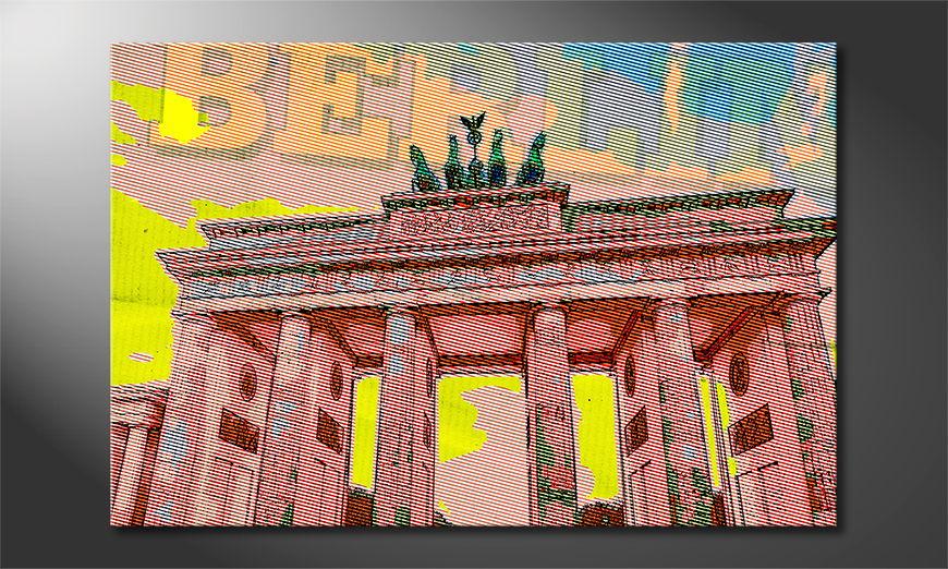 Modern Canvas print Berlin
