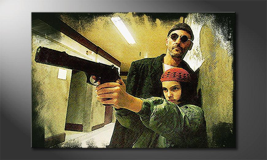 Modern Canvas print Leon