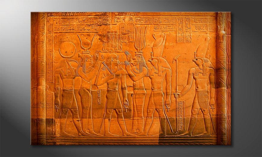 Modern art print Egypt