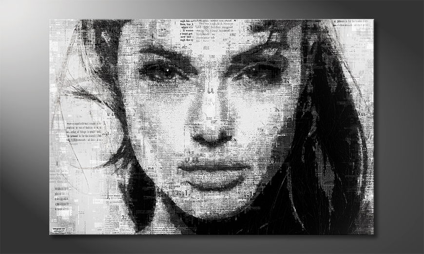 Modern canvas Angelina