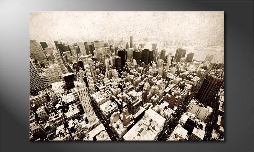 Modern print New York Vintage