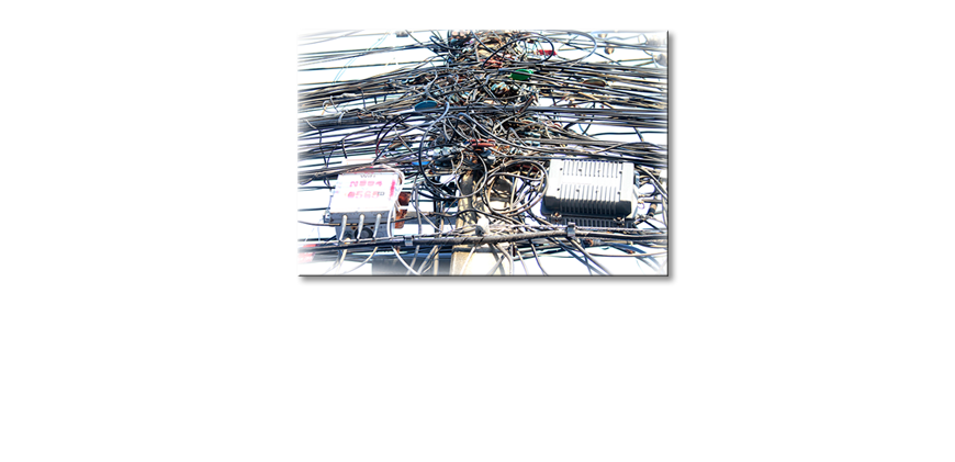 The-modern-art-print-Cable-Chaos