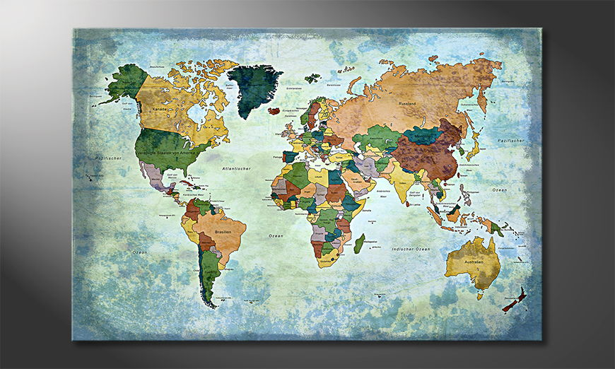 The-modern-art-print-Oldworldmap-one