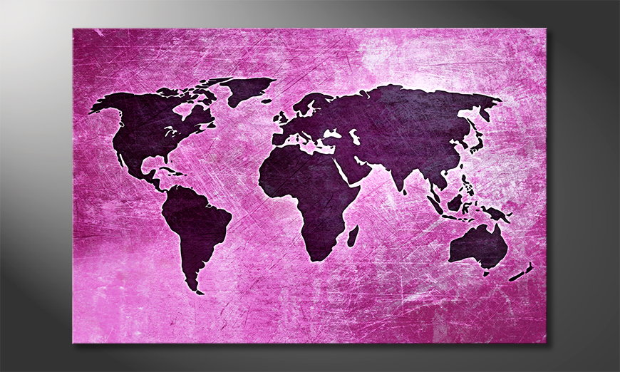The-modern-art-print-Worldmap-4