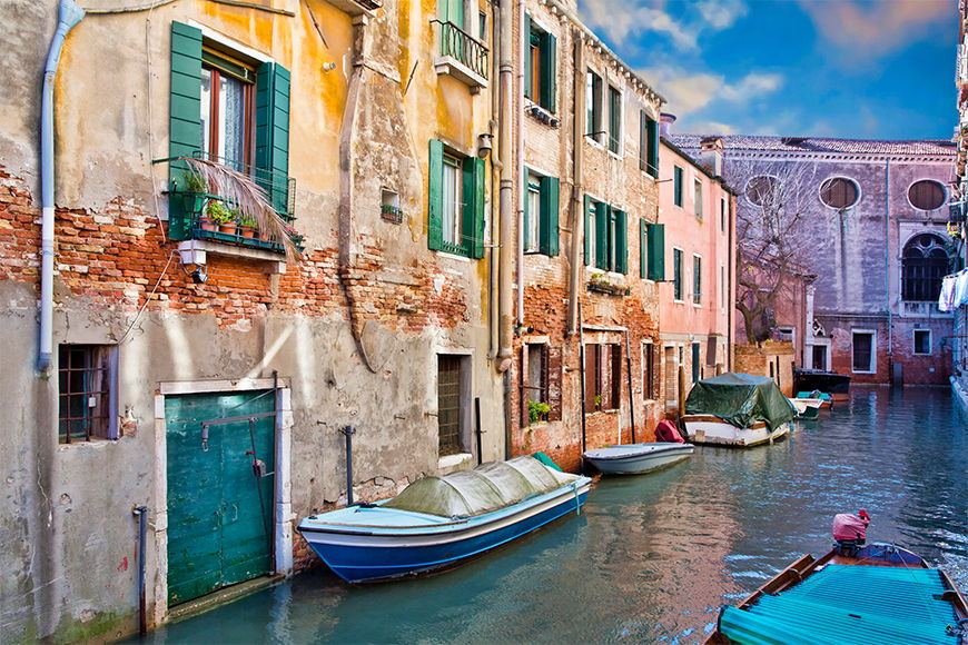 Photo-wallpaper Beautiful venice from 120x80cm