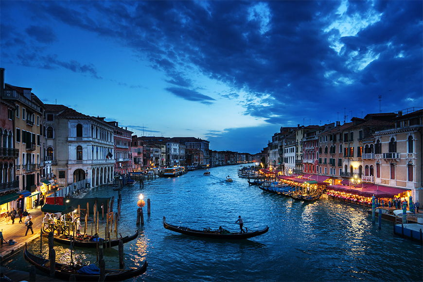 Photo-wallpaper Bella Venecia from 120x80cm