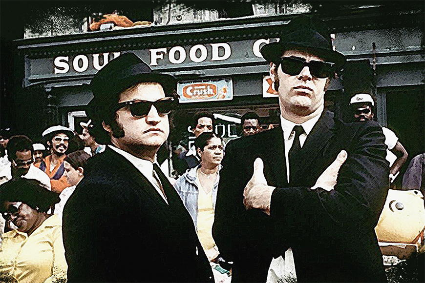 Photo-wallpaper Blues Brothers from 120x80cm