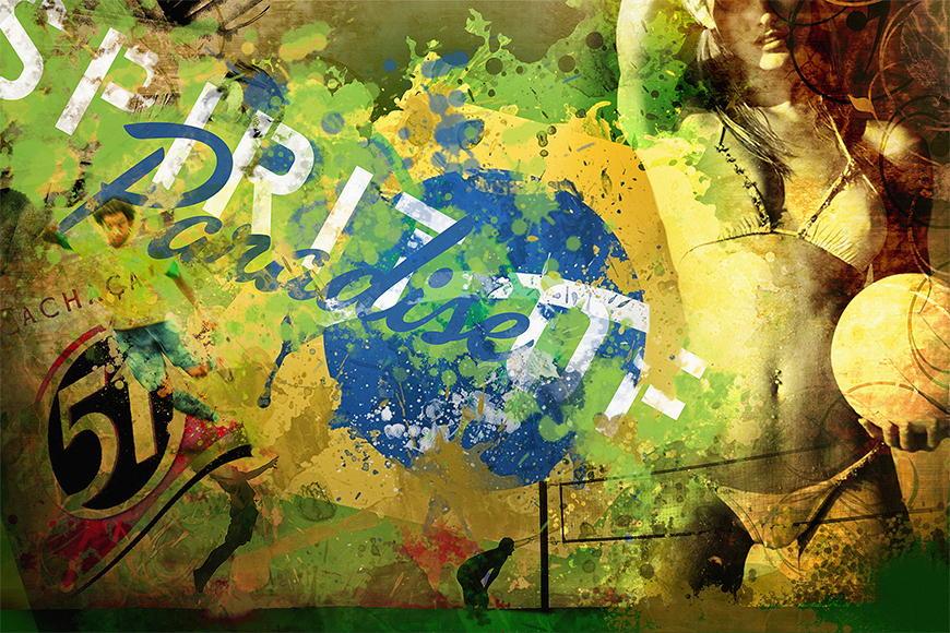 Photo-wallpaper Brazil from 120x80cm