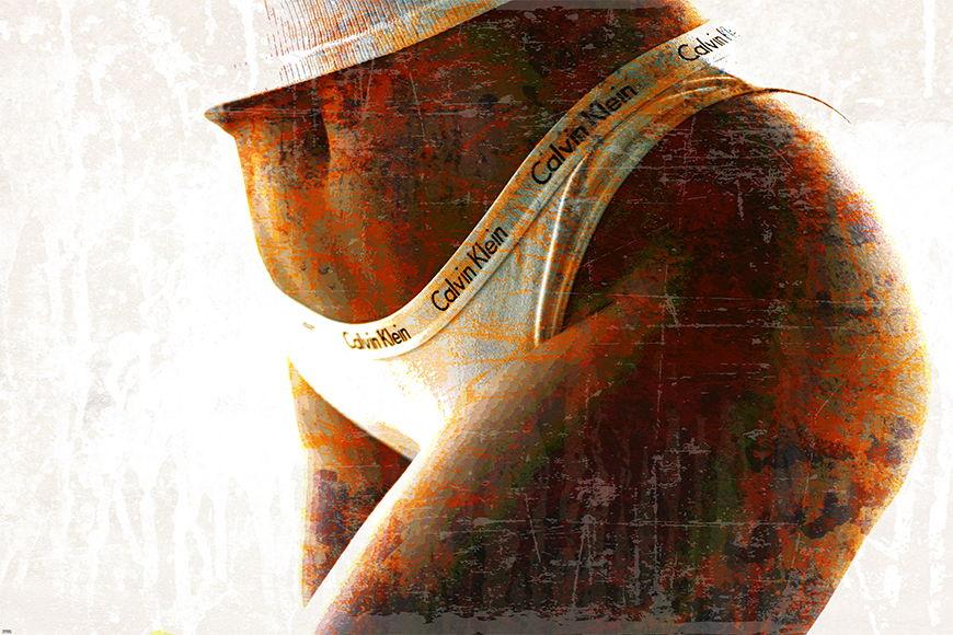 Photo-wallpaper Calvin from 120x80cm