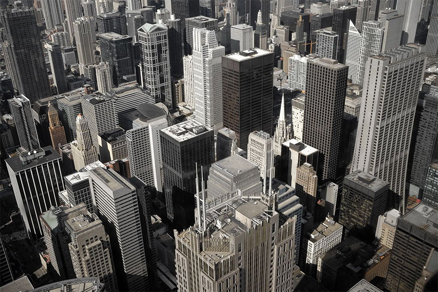 Photo-wallpaper Chicago City from 120x80cm
