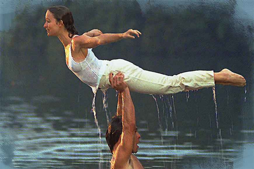 Photo-wallpaper Dirty Dancing from 120x80cm