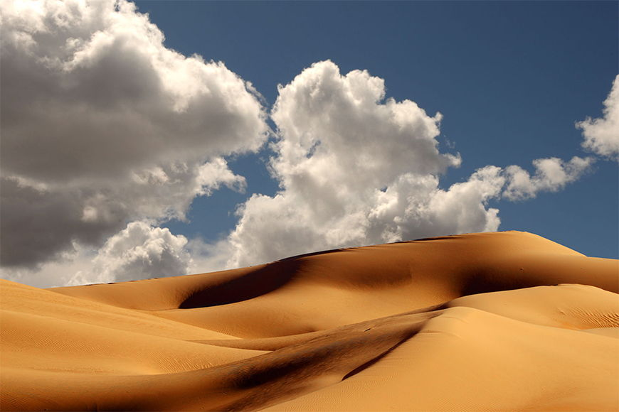Photo wallpaper Dunes from 120x80cm