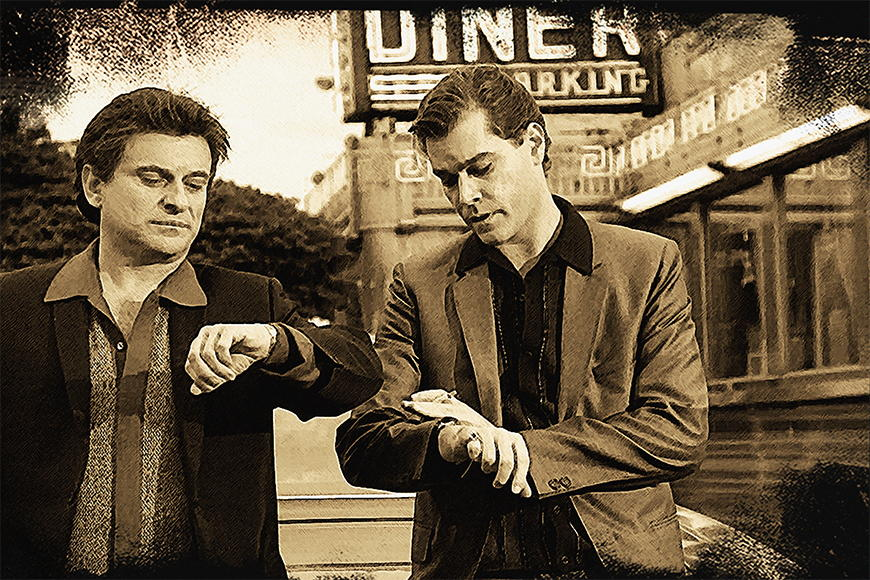 Photo wallpaper GoodFellas from 120x80cm