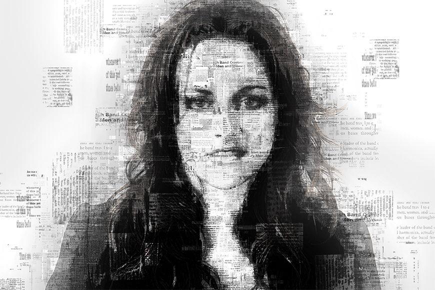 Photo-wallpaper Kristen from 120x80cm