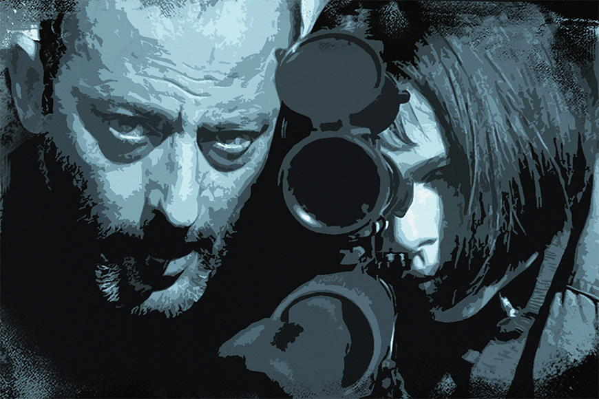 Photo-wallpaper Leon and Mathilda