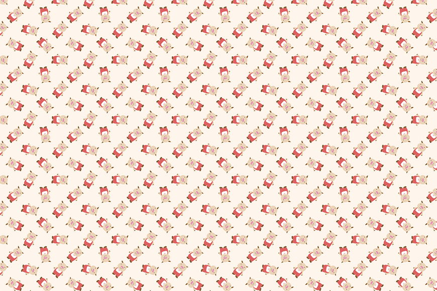 Photo-wallpaper Little Pig from 120x80cm