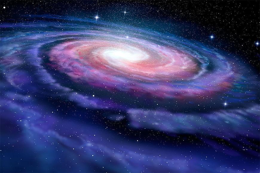 Photo-wallpaper Magic Galaxy from 120x80cm