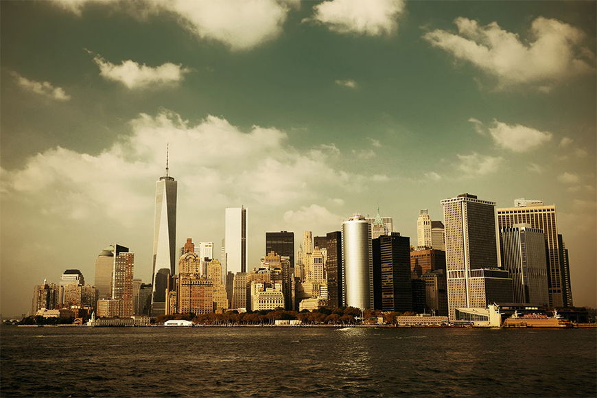 Photo-wallpaper Manhattan Skyline from 120x80cm
