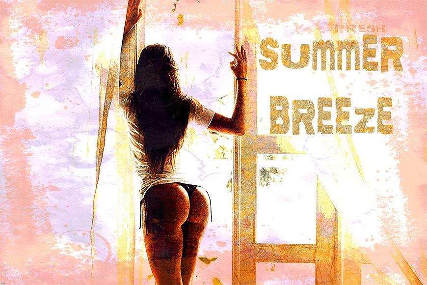 Photo-wallpaper Summer Breeze from 120x80cm