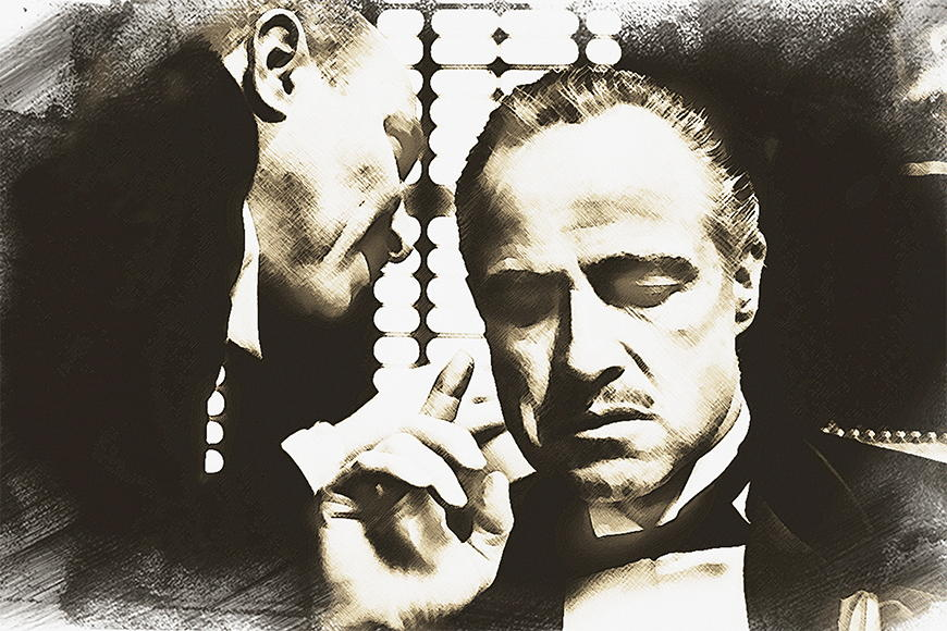 Photo-wallpaper The godfather from 120x80cm