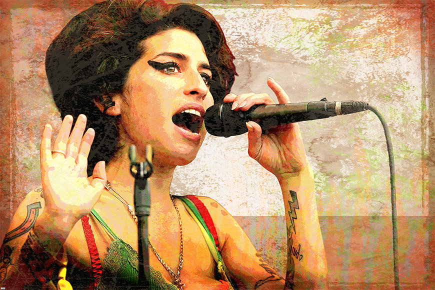 Wallpaper Amy from 120x80cm