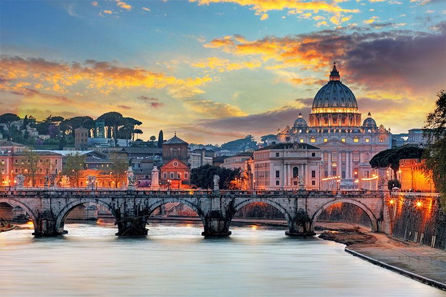 Wallpaper Vatican from 120x80cm